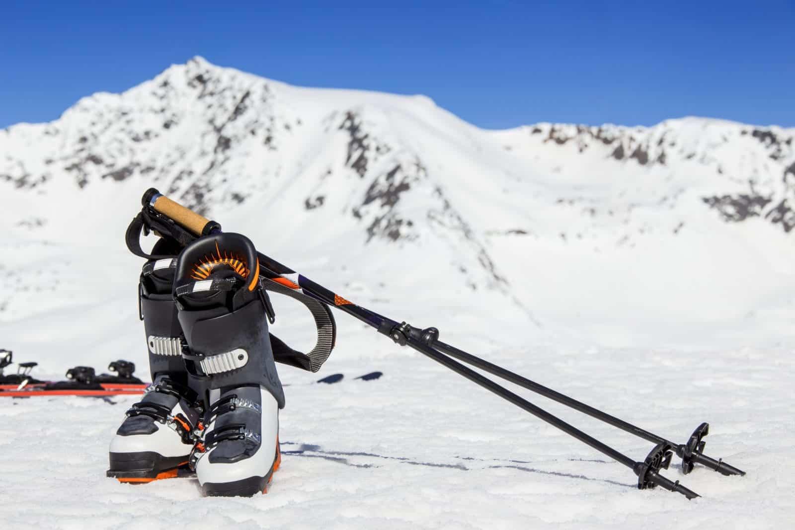 ski boot blisters